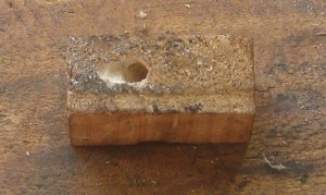 block 1 drilled